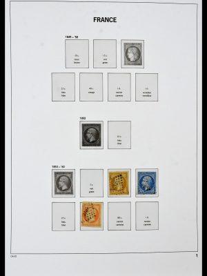 Foto van Postzegelverzameling 34047 Frankrijk 1853-2020(!)