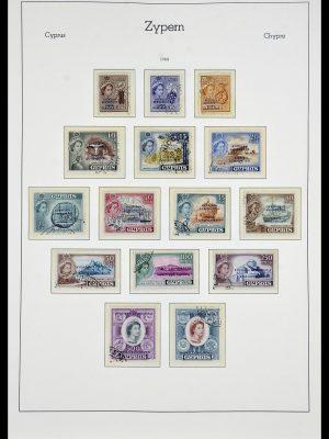 Postzegelverzameling 34049 Cyprus 1960-2012.