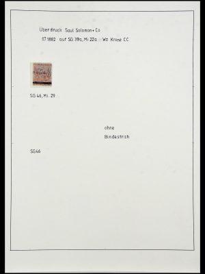 Postzegelverzameling 34051 Kaap de Goede Hoop 1864-1904.
