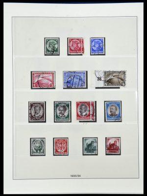 Postzegelverzameling 34055 Duitse Rijk 1933-1945.