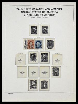 Postzegelverzameling 34056 USA 1851-1972.