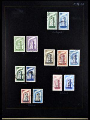 Postzegelverzameling 34062 Europa CEPT 1956-1977.