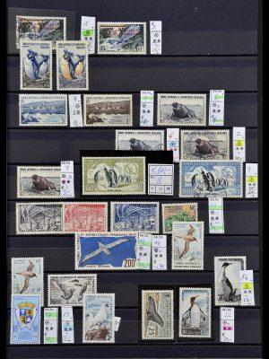 Postzegelverzameling 34068 Frans Antarctica 1955-2016.