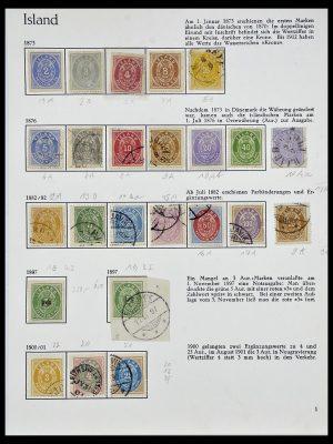 Postzegelverzameling 34070 IJsland 1873-1980.