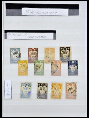 Postzegelverzameling 34072 Japan fiscaal zegels 1877-1932.