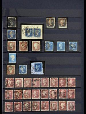 Postzegelverzameling 34075 Engeland 1840-1980.