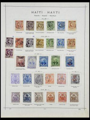 Postzegelverzameling 34078 Haïti 1881-1970.