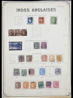 Postzegelverzameling 34079 India 1855-1930.