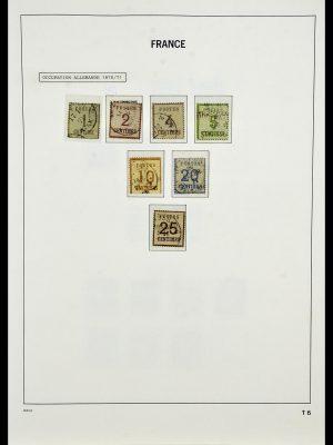 Postzegelverzameling 34085 Frankrijk 1849-1988.