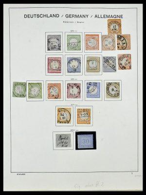 Postzegelverzameling 34087 Duitse Rijk 1872-1945.