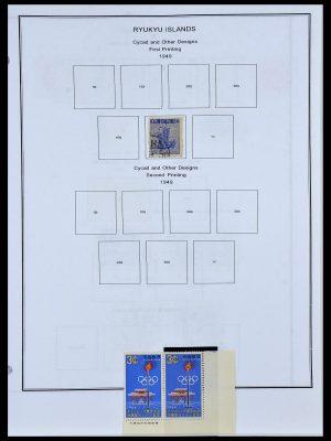 Postzegelverzameling 34094 Riukiu 1949-1972.