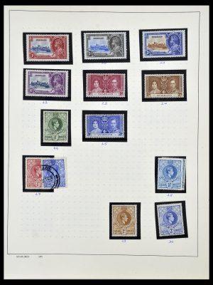 Postzegelverzameling 34097 Swaziland en Lesotho 1935-1989.
