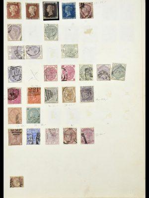 Postzegelverzameling 34102 Engeland 1840-1935.