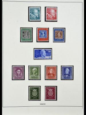 Postzegelverzameling 34103 Bundespost 1949-1990.