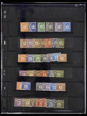 Postzegelverzameling 34106 Engeland port 1914-1994.