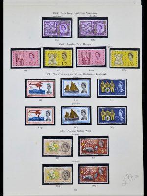 Postzegelverzameling 34107 Engeland 1960-1984.