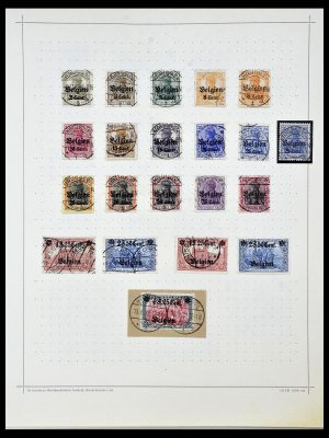 Postzegelverzameling 34108 Duitse Gebieden 1914-1920.