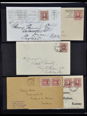 Postzegelverzameling 34109 Australië 1930.