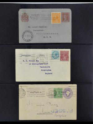 Postzegelverzameling 34112 Australië mengfrankeringen 1915-1952!