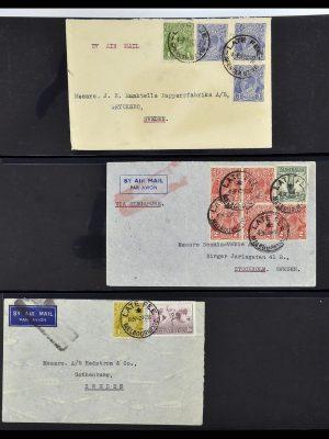 Foto van Postzegelverzameling 34114 Australië brieven 1914-1936.