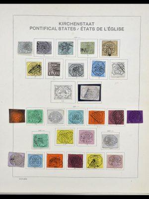 Postzegelverzameling 34131 Vaticaan 1852(!)-1974.