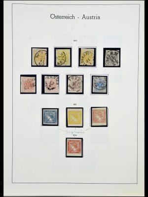 Postzegelverzameling 34150 Oostenrijk en gebieden 1850-1975.