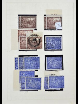 Postzegelverzameling 34152 Duitse Zones 1945-1949.