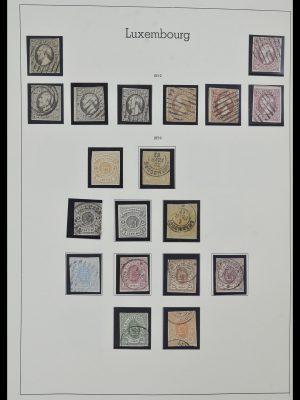 Postzegelverzameling 34157 Luxemburg 1852-1974.