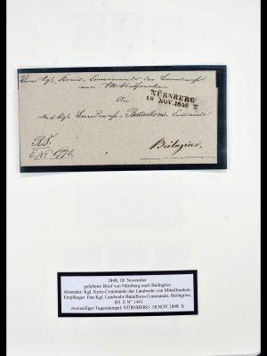 Postzegelverzameling 34159 Oud Duitse Staten 1860-1920.