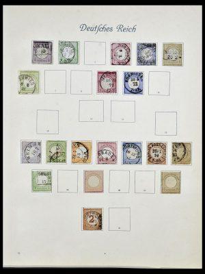 Postzegelverzameling 34160 Duitse Rijk 1872-1931.