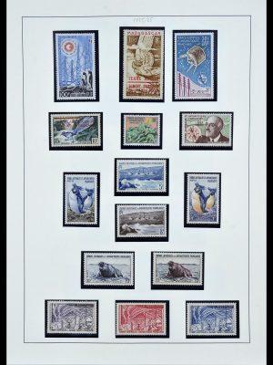 Postzegelverzameling 34163 Frans Antarctica 1955-1984.