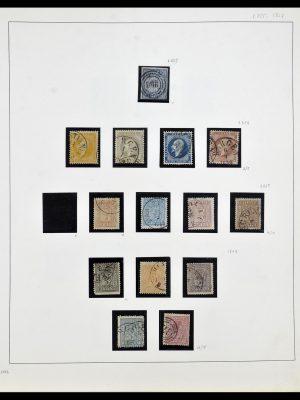 Postzegelverzameling 34168 Noorwegen 1855-1985.