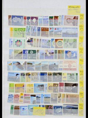 Postzegelverzameling 34171 IJsland 1960-2005.