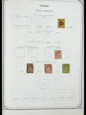 Postzegelverzameling 34176 Zwitserland 1850-1996.