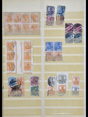 Postzegelverzameling 34178 Duitse Rijk combinaties 1920-1942.