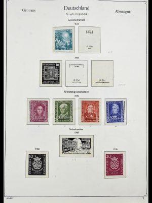 Postzegelverzameling 34192 Bundespost 1949-1975.