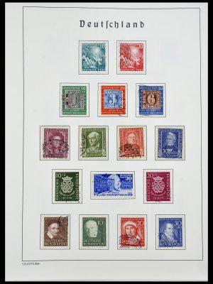 Postzegelverzameling 34193 Bundespost 1949-1977.