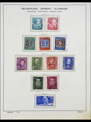 Postzegelverzameling 34194 Bundespost 1949-1982.