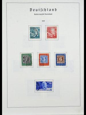 Postzegelverzameling 34195 Bundespost 1949-1981.