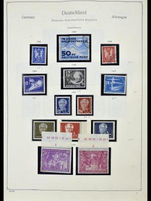 Postzegelverzameling 34196 DDR 1949-1969.