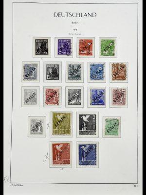 Postzegelverzameling 34197 Berlijn 1948-1990.