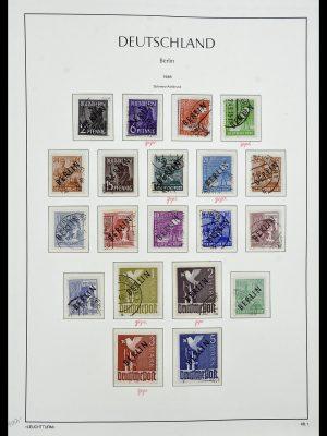 Postzegelverzameling 34198 Berlijn 1948-1990.