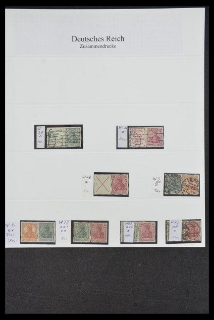 Postzegelverzameling 34200 Duitsland combinaties 1910-1996.