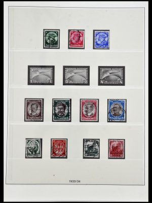 Postzegelverzameling 34201 Duitse Rijk 1933-1945.