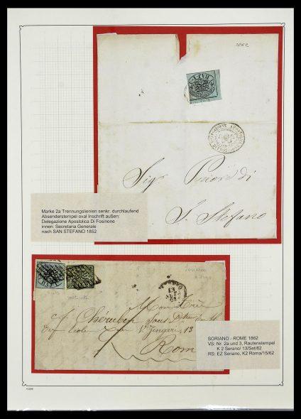 Postzegelverzameling 34205 Italiaanse Staten 1653(!!)-1872.