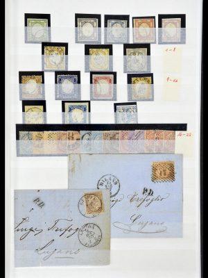 Foto van Postzegelverzameling 34206 Italië en gebieden 1861-2000.