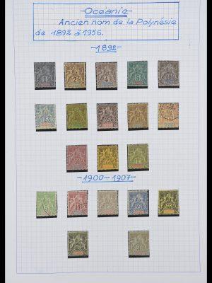 Foto van Postzegelverzameling 34220 Polynesië 1892-2014!
