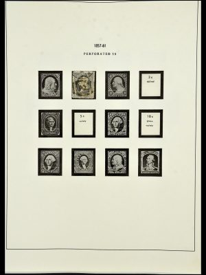Postzegelverzameling 34224 USA 1861-1977.