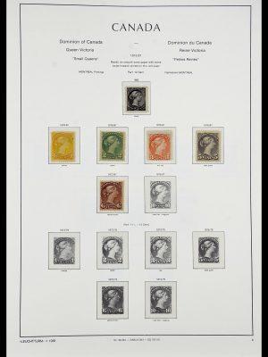 Postzegelverzameling 34228 Canada 1882-2011.