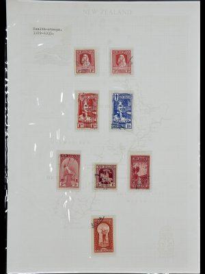 Foto van Postzegelverzameling 34229 Nieuw Zeeland 1929-1992.
